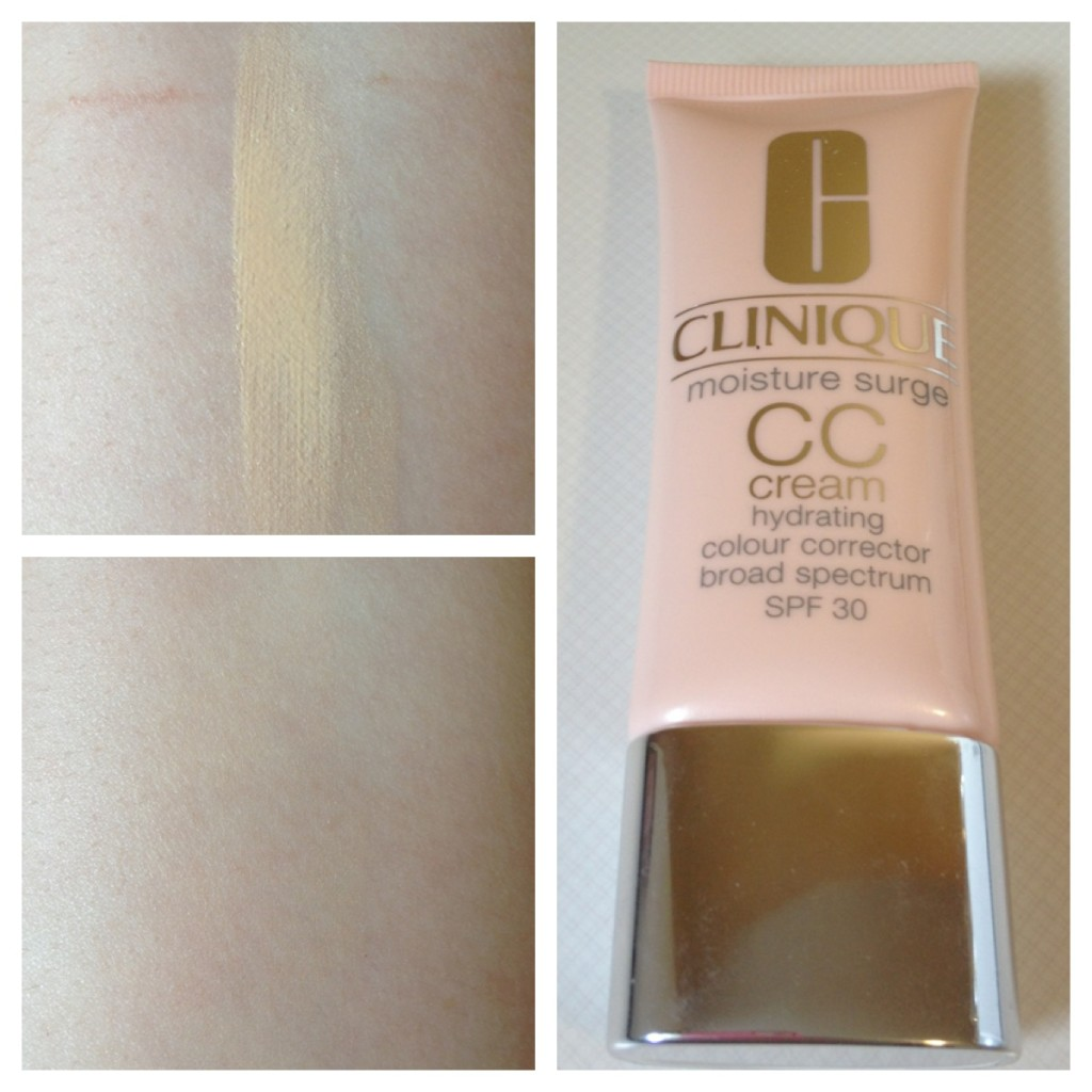 Bases clinique moisture surge cc cream in very light for Where is clinique made
