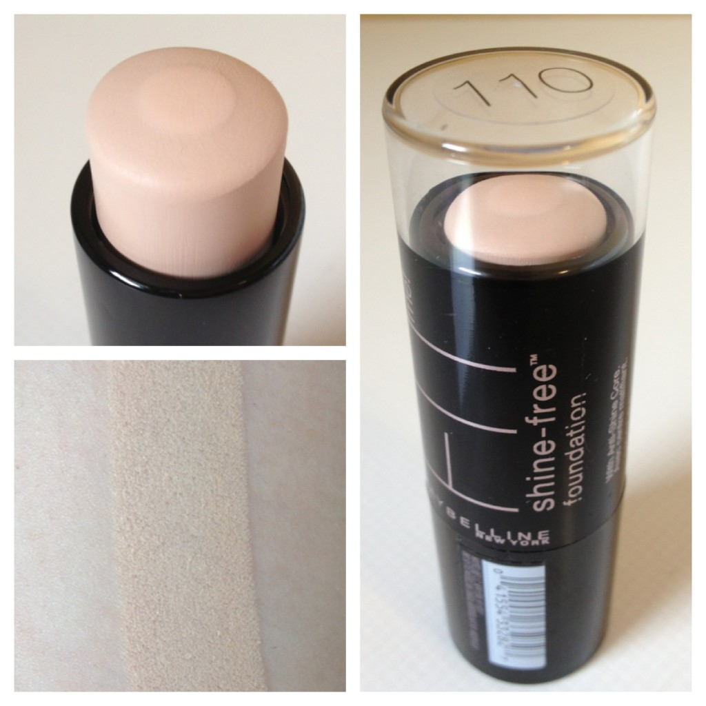 Bases Maybelline Fit Me Shine Free Foundation Then